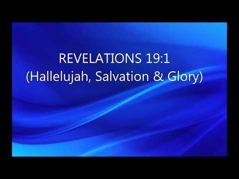 Hallelujah, Salvation, and Glory