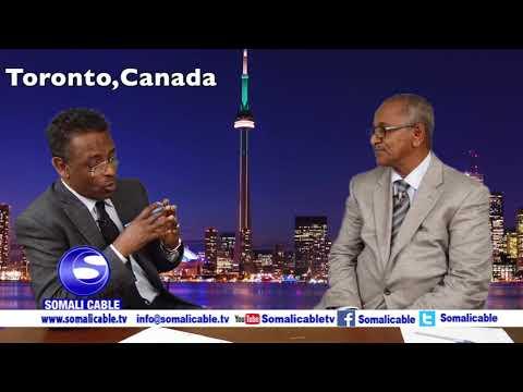 Todobaadka iyo Toronto Waraysi Prof Shirwac
