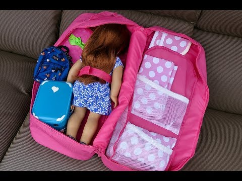 How To Travel With Your American Girl Doll -Three Night Hotel Vacation Stay