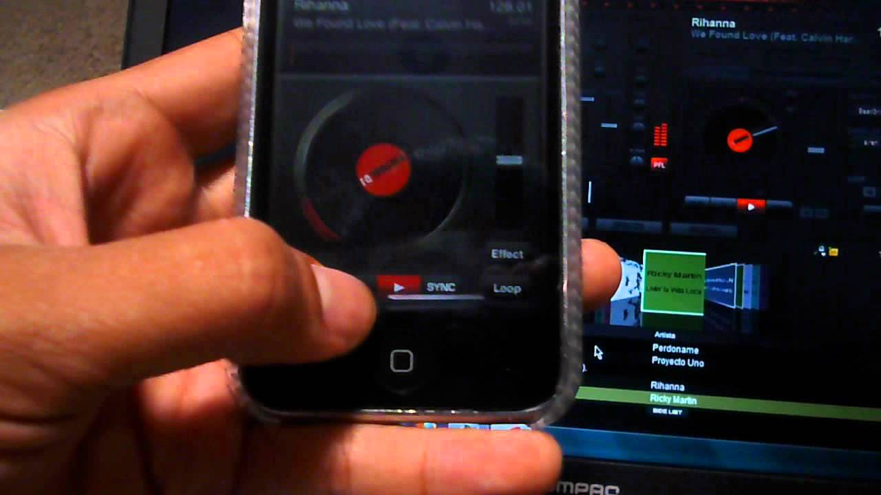 virtualdj remote para iphone