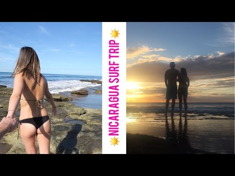 Miramar Surf Camp | Nicaragua Travel Vlog