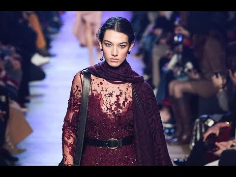 24faaebce0 ELIE SAAB Fall 2018/2019 Paris - Fashion Channel