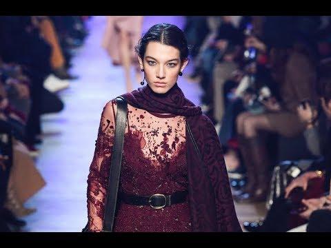 19894018a965 ELIE SAAB Fall 2018 2019 Paris - Fashion Channel - YouTube