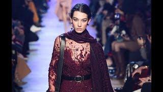 ELIE SAAB Fall 2018/2019 Paris - Fashion Channel