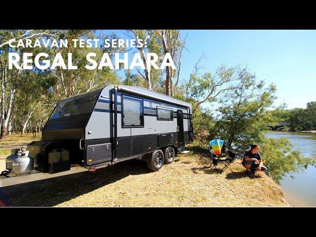 Regal Sahara couple's caravan review
