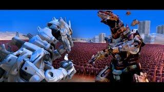 MechaZilla Vs Corrupted MechZilla!!! | Ultimate Epic Battle Simulator HD