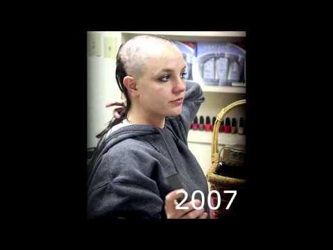 Britney Spears evolution