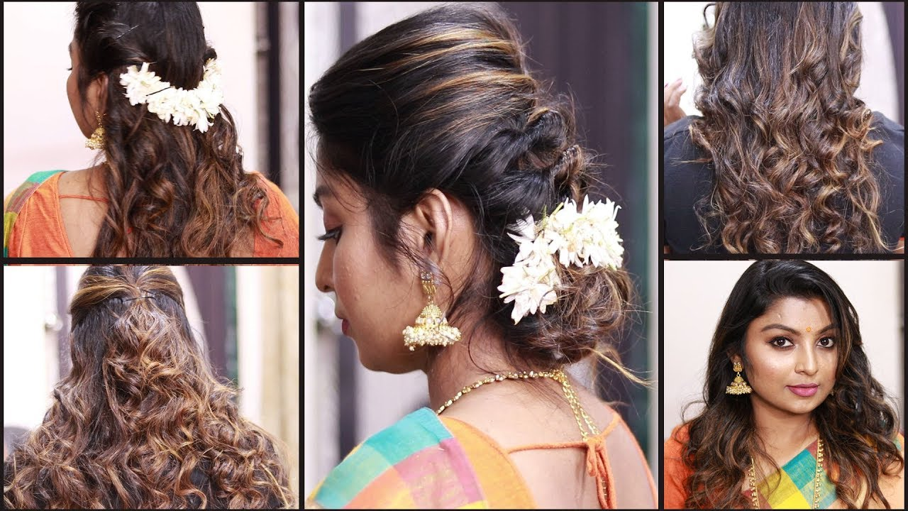 5 easy hairstyles for wedding/party || simple hairstyles || wedding guest hairstyles