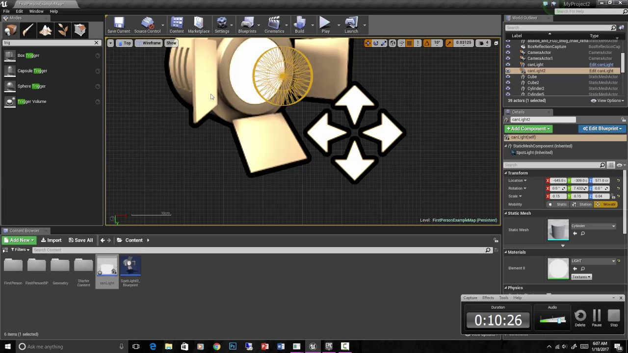 Ue4 for arch viz turning on and off lights using blueprints youtube malvernweather Image collections