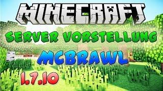 McBrawl | Minecraft Server Vorstellung [1.7.10] [German]