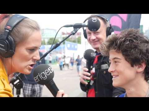 TALKING ON THE SWEDISH RADIO TO 200,000 PEOPLE