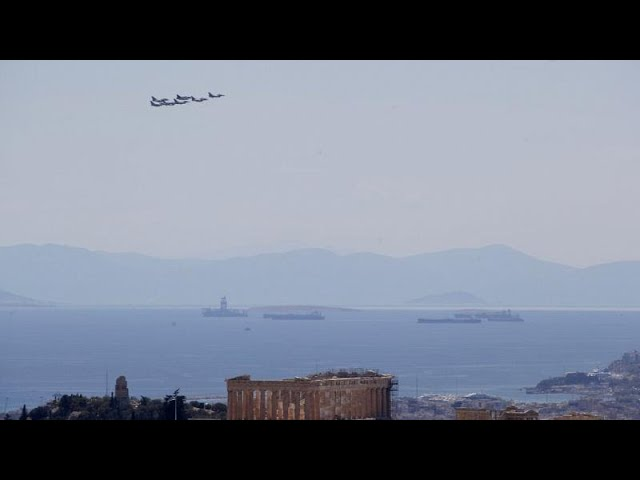 <span class='as_h2'><a href='https://webtv.eklogika.gr/' target='_blank' title='«Ηνίοχος 2021»: Mαχητικά αεροσκάφη πάνω από την Ακρόπολη'>«Ηνίοχος 2021»: Mαχητικά αεροσκάφη πάνω από την Ακρόπολη</a></span>