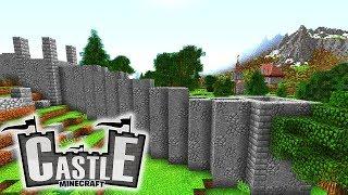 Stadtmauer! Grundriss Burg! Neuer NPC! - Minecraft CASTLE #06 - Ancient Warfare 2 Mod