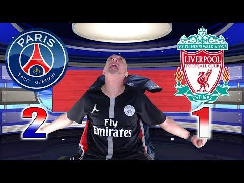 PARIS SG 2-1 LIVERPOOL - Azéd Stories