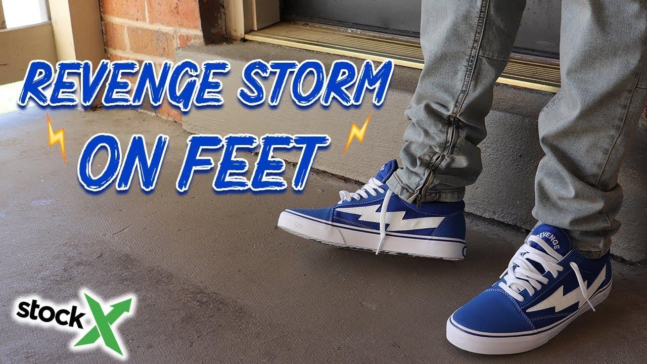 Ian Connor Revenge Storm On Feet - YouTube