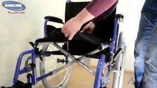 видео Кресло коляска инвалидная Старт Комплект 3 Отто Бокк
