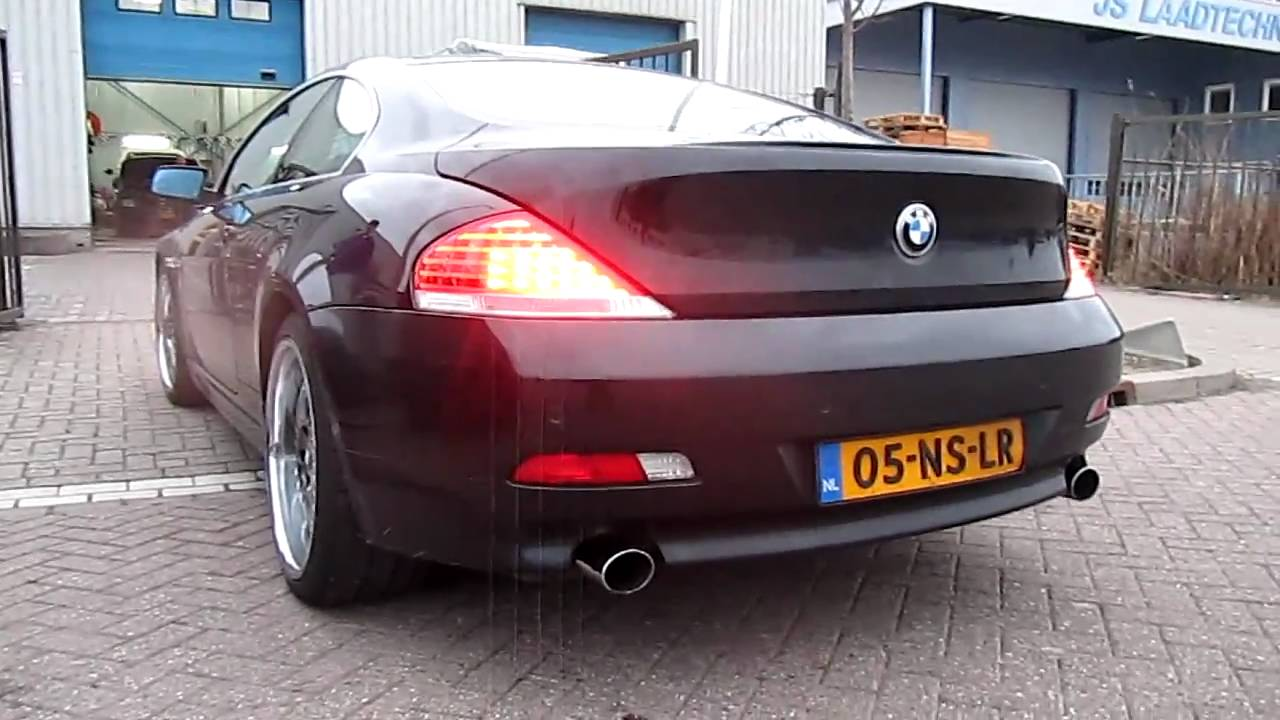 BMW Ci Accelerating YouTube - Bmw 645ci horsepower