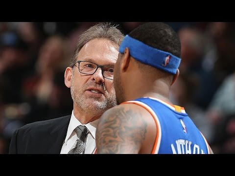Carmelo Anthony & Starters Tell Kurt Rambis To Cut Back Their Minutes