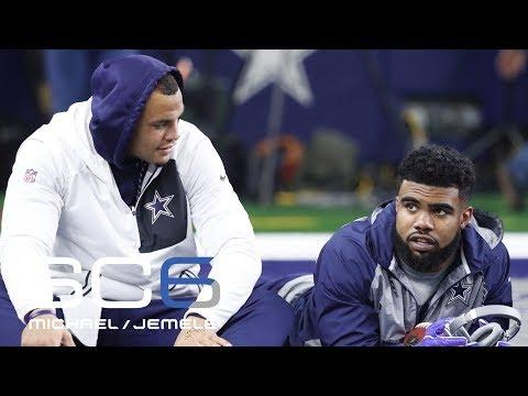 Dak Prescott Calls Out Ezekiel Elliott For ESPN Body Issue Cover | SC6 | July 10, 2016