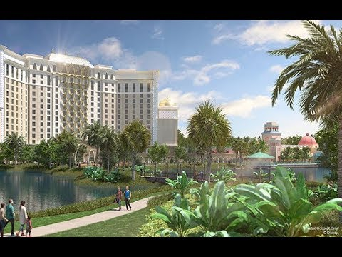 Disney's Coronado Springs Resort Flyover Video
