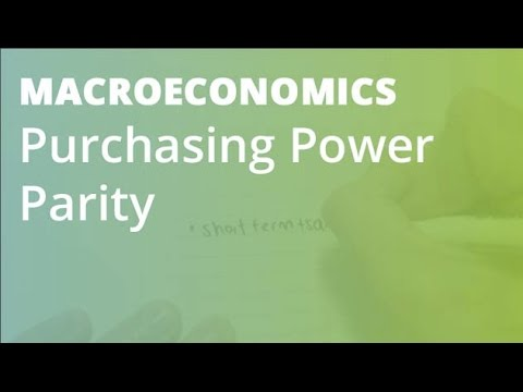 Purchasing Power Parity | Macroeconomics