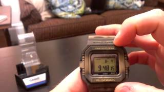 G5500MC-5 Casio G-Shock Watch Review - Jam'in Color series, Brown Camouflage / Camo