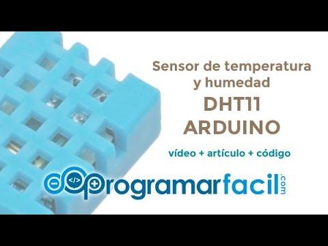 Tutorial DHT11 Con Arduino, Medir Temperatura Y Humedad