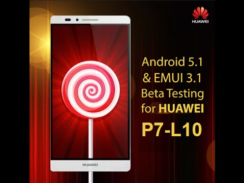 Huawei Ascend P7 Прошивка