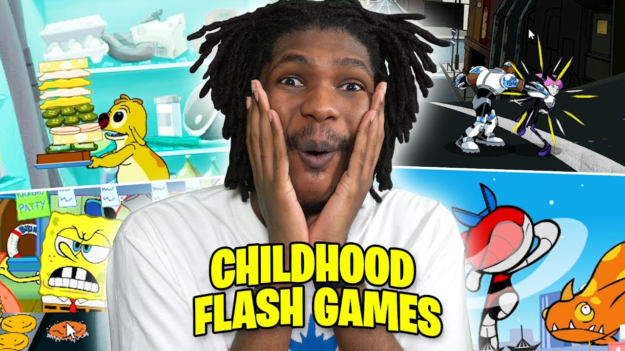 I Haven't Played These Games in Over 15 Years! | Classic Flash Games