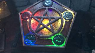 Evilusions Pentacle Elemental Escape Room Puzzle Prop