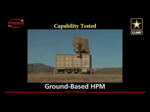 Raytheon's High-Power Microwave Weapon Downs Drones