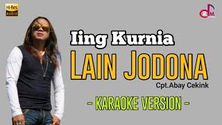 #Karaoke Lirik    Iink Kurnia - Lain Jodona