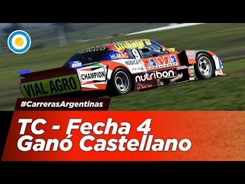 #CarrerasArgentinas - Castellano ganó de punta a punta en TC - Fecha 4 - Concepción del Uruguay