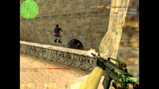 Counter Strike 1.6 de_dust2 Gameplay HD Deathmatch Ownage