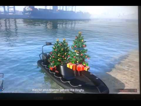 GTA 5 Online Christmas trees hack glitch - YouTube