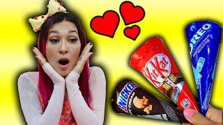 Maloucos em uma história engraçada com sorvete!  Fun ice cream Story