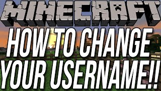How To Change Your Minecraft Username (Free & Without Mods)