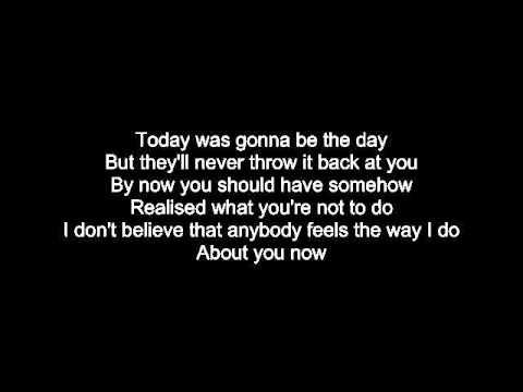 Oasis - Wonderwall letra