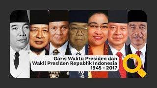 Daftar Presiden dan Wakil Presiden Indonesia 1945 - 2018