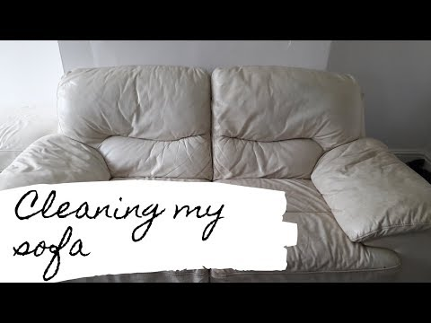 How I clean my leather sofas and chairs using Zoflora!