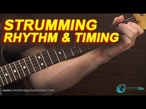 BEGINNER GUITAR: Strumming, Rhythm & Timing