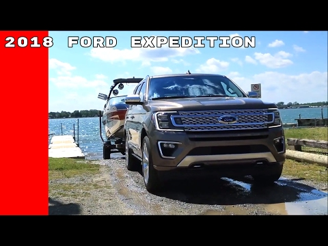 2018 Ford Expedition Towing Trailer Assist