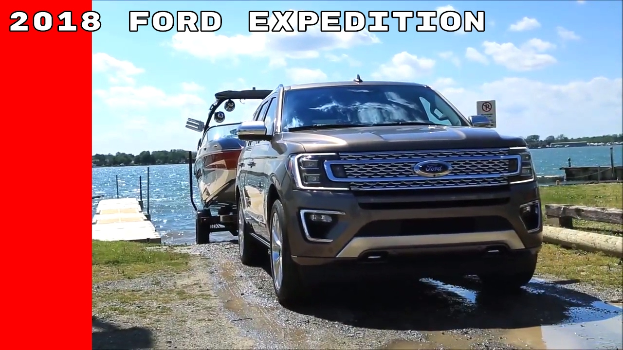 Ford Trailer Backup Assist >> 2018 Ford Expedition Towing Trailer Assist - YouTube