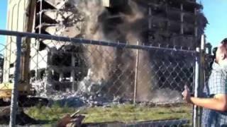 Demolition Of The Cleveland Cold Storage Building