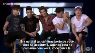 "One Direction fala sobre ""This Is Us"" para o Yahoo! (LEGENDADO)"