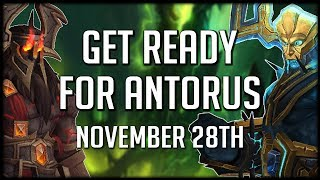 5 WAYS TO PREPARE for Antorus the Burning Throne | WoW Legion