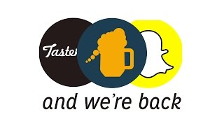'Raise a Glass' - My Snapchat Tastemade Series - IS HERE!