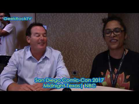 Comic Con San Diego 2017 - Midnight Texas - (Producers)