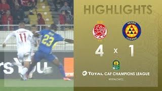 Wydad Athletic Club 4-1 Atlético Petróleos   HIGHLIGHTS   Match Day 3   TotalCAFCL