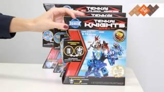 Конструктор Тенкай Найтс (Tenkai Knights) Боевой набор с мини-фигурками